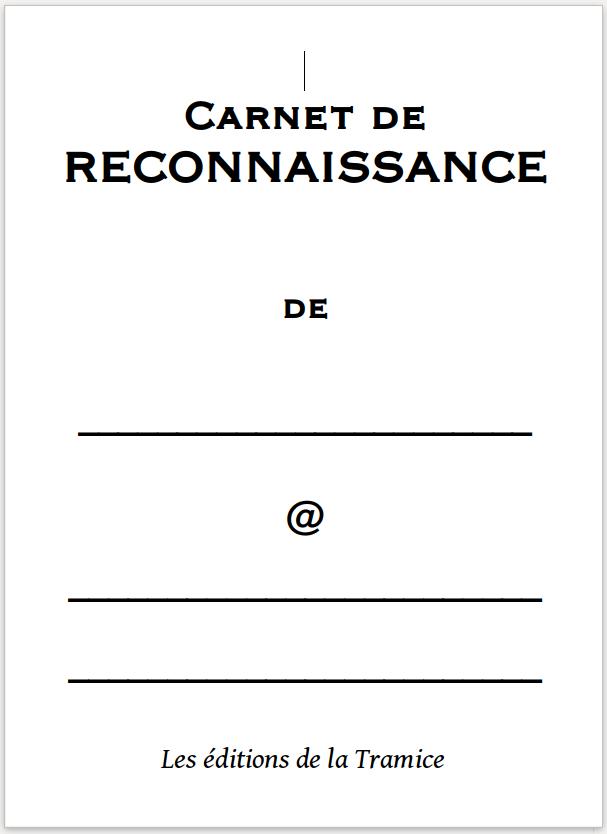 Carnet de reconnaissance
